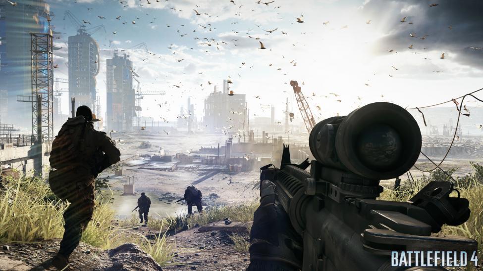 Battlefield 4 attack