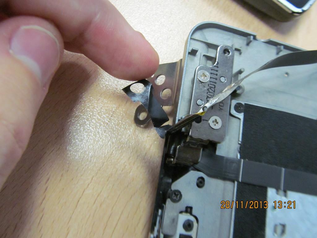 Acer s3 порвался шлейф
