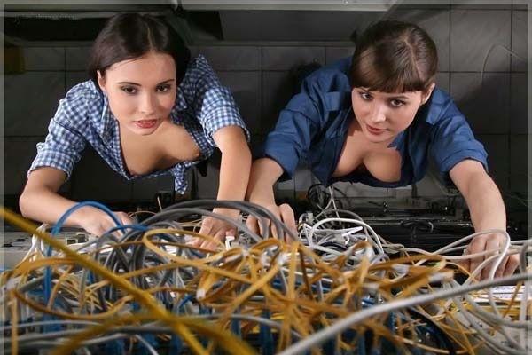server room girls