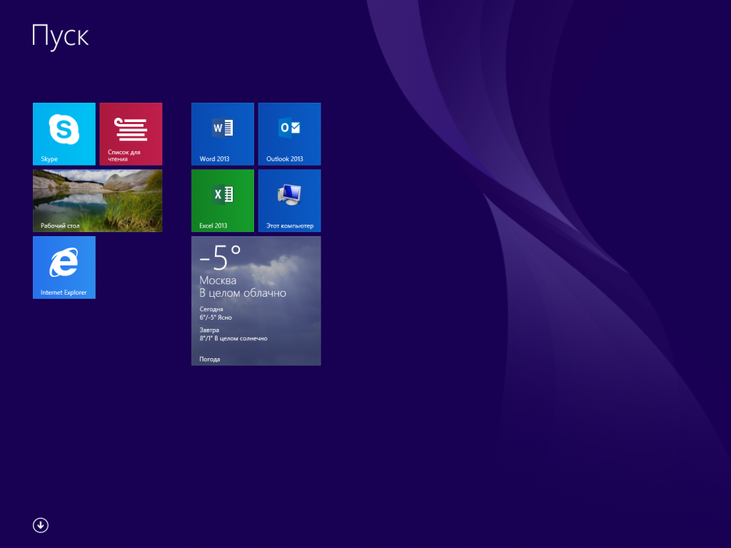 Windows 8.1 new mwtro applications